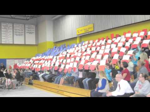 Angola Middle School Veterans Day ceremony