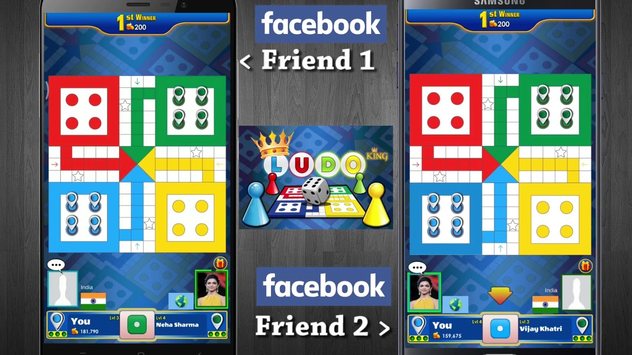How to play ludo king with facebook friends | ludo king Facebook 2 player  Connect Guide