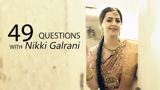 49 questions with Nikki Galrani 24-12-2018 JFWShow