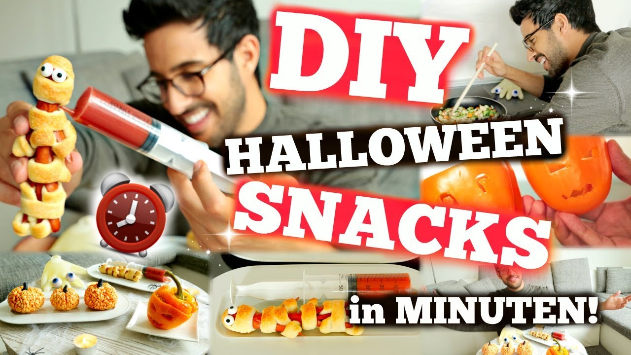 die allercoolsten diy halloween party snacks die ihr je. Black Bedroom Furniture Sets. Home Design Ideas
