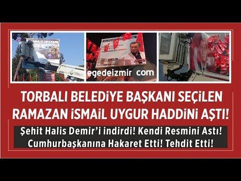 Torbalı Belediye Başkanı Ramazan ismail Uygur Cumhurbaşkanını Tehdit Etti