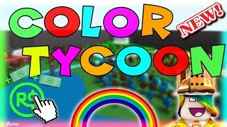 me and my sis playing roblox Color Factory Tycoon part 2