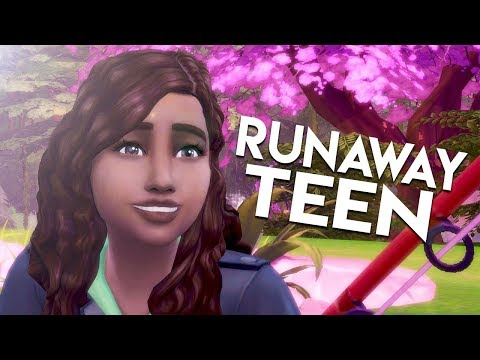 SECRET FOREST // The Sims 4: Runaway Teen Challenge #4