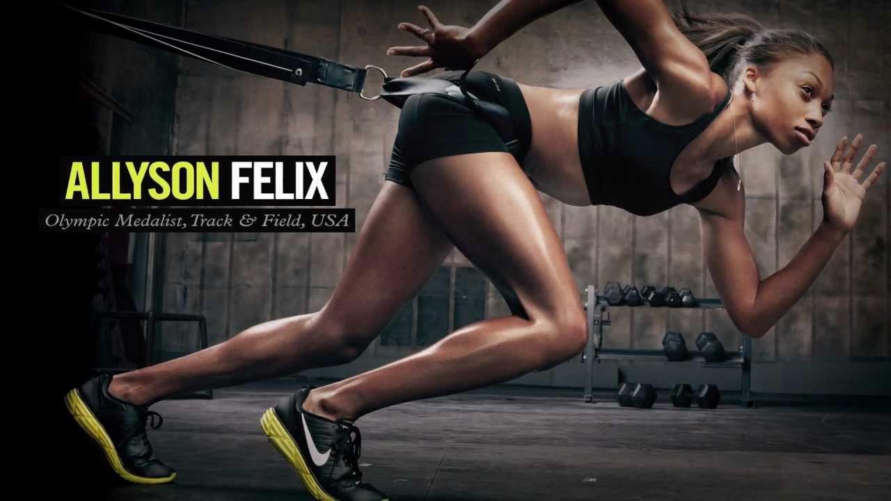 Gym Workout Girl Wallpaper Nike Women Make Yourself Athlete Team Youtube