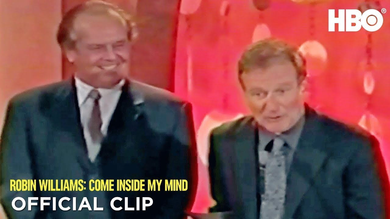 Download Jack Nicholson & Robin at the Critics' Choice Awards | Robin Williams: Come Inside My Mind | HBO