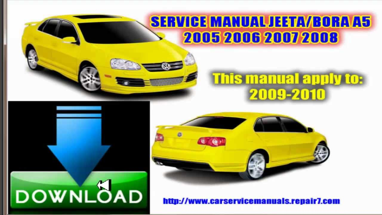 service repair manual jeeta bora a5 2005 2006 2007 2008 2009 youtube rh youtube com volkswagen bora 2008 manual usuario manual usuario vw bora 2.5