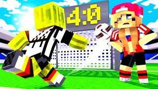 Das FINALE steht AN?! - Minecraft FUßBALL WM 2018