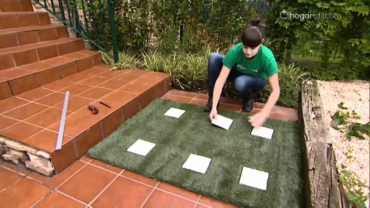 Bricoman a paso original para terraza youtube - Caseta de plastico para jardin ...