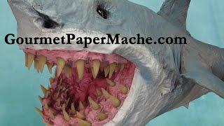 "Paper Mache ""Great Bite"" Shark"
