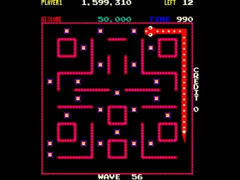Arcade Game: Nibbler (1982 Rock-Ola)
