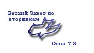 Ветхий Завет, Книга пророка Осии 7 и 8 глава.