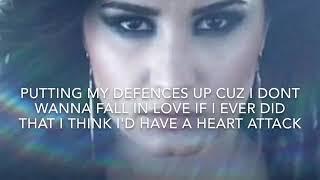 Heart Attack Lyrics ~ Demi Lovato