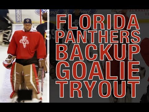 Kane Van Gate's Florida Panthers Tryout (2015) - YouTube