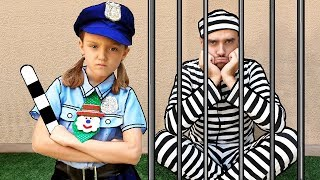 Detective Nastya Video para Niños | Police Videos for Kids