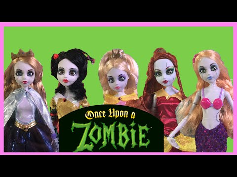 Once Upon A Zombie Princess Review - All 6 Zombie Dolls