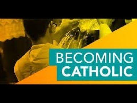 Becoming Catholic RCIA #22   Retreat Talk (2019)