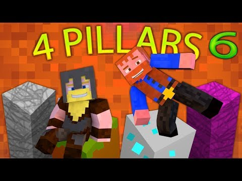 Minecraft: 4 Pillars Challenge (6) - Dumb & Dumber
