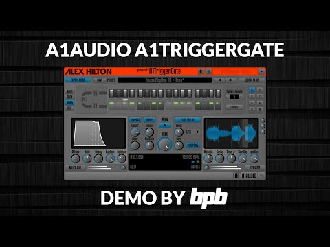 A1TriggerGate VST Plugin DEMO