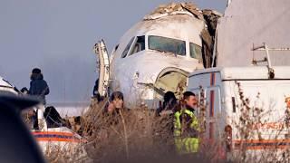 СРОЧНО! В Казахстане разбился пассажирский самолет
