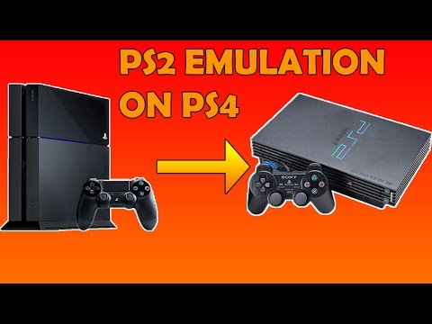 PS2 EMULATION ON PS4!!!