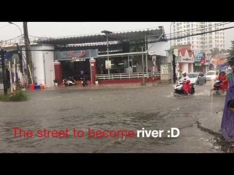 Thao Dien Street to become a river