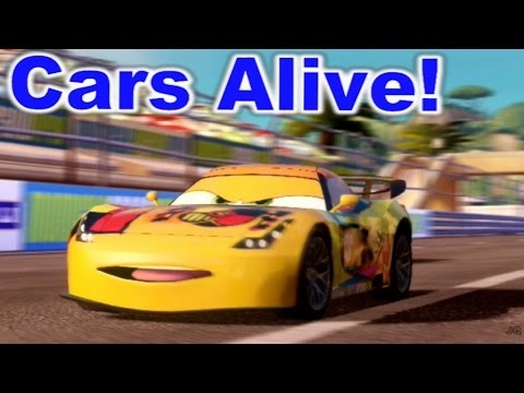 Cars 2 the video game miguel camino mountain run youtube - Coloriage cars 2 miguel camino ...