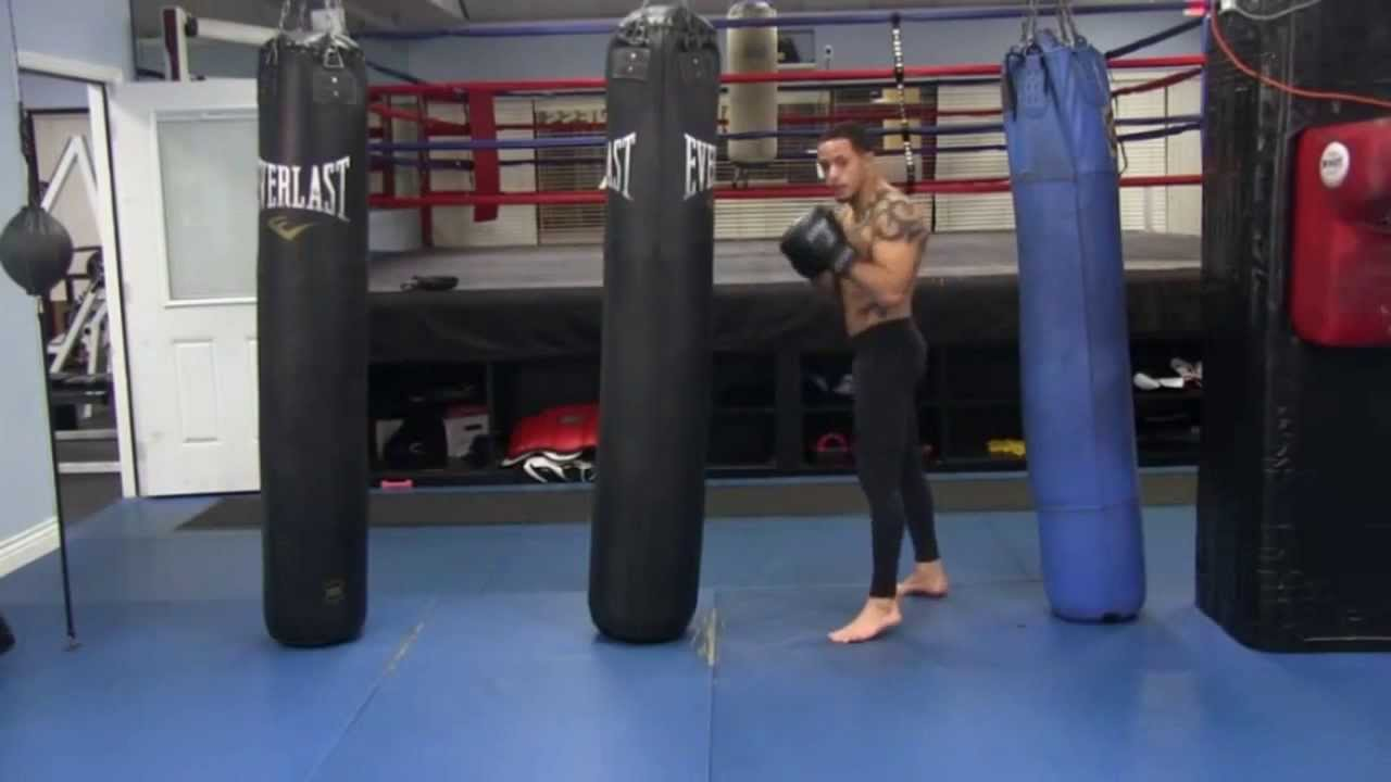 Punch Bag Combos Get A Fat Burning Workout With Your Routine You