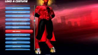 City of Heroes Architect (my character creations)