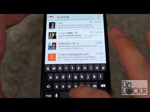 How To Display Unread Emails In The Android Gmail App
