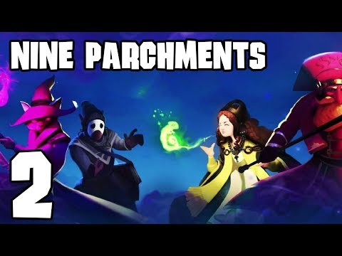 Nine Parchments Co-op - Ep 2 - Treasure Mantis