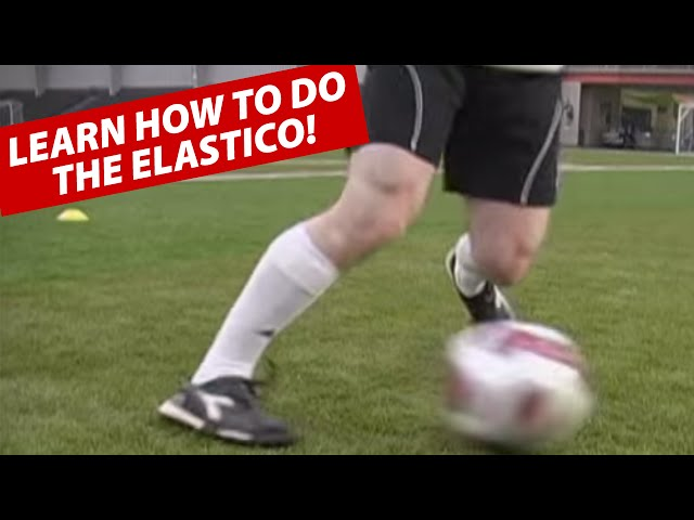 How To Do The Ronaldinho Elastico (Flip-Flap) Soccer Football Move ★