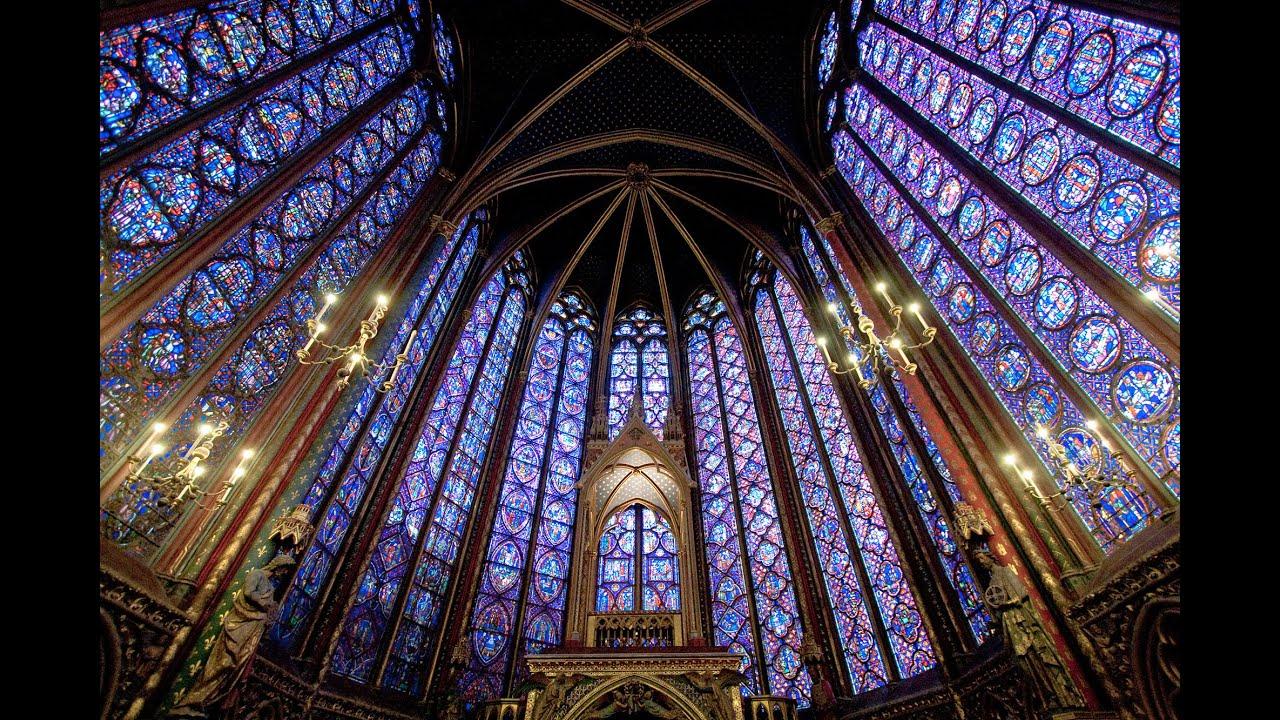 Paris Sainte Chapelle At Night