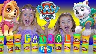 PATROL PAW - PATRULLA CANINA PLAY DOH