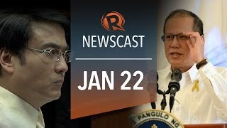 Rappler Newscast: Aquino hits Sen Revilla, rice smuggler, Thai protests