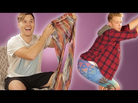 Thumbnail: Guys Try Leggings For The First Time