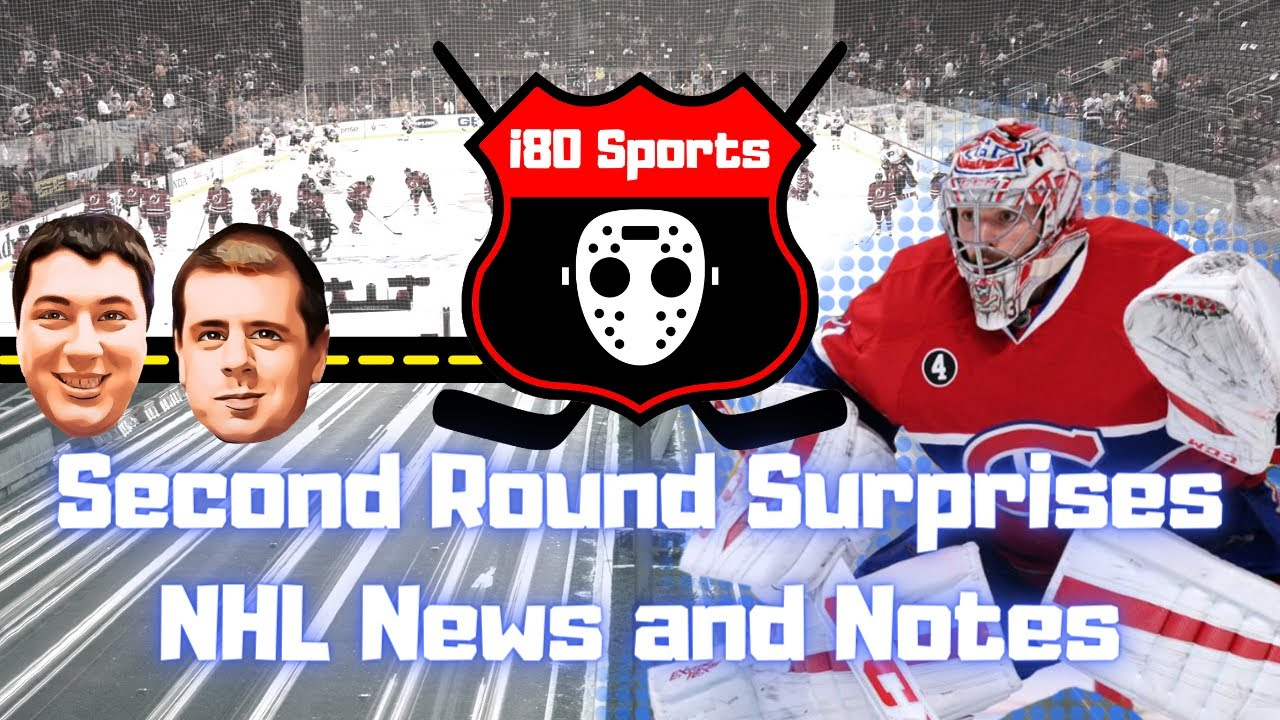 NHL Playoffs- Second Round Surprises and More!