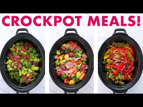 Dump and Go CROCKPOT MEALS Compilation