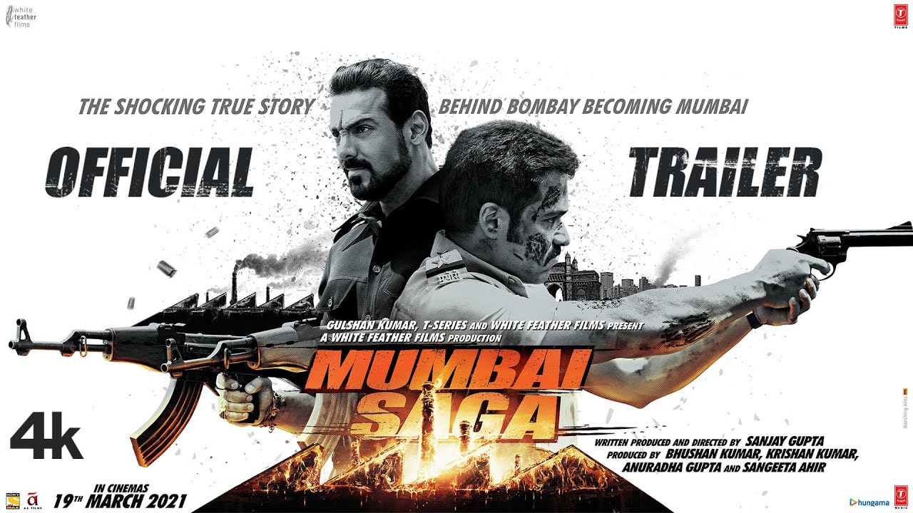 Download Mumbai Saga Trailer (Official) Emraan H, Suniel S, John A, Kajal A, Mahesh M | Releasing 19 March