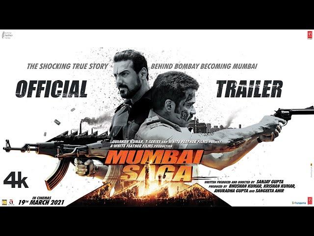 Mumbai Saga Trailer (Official) Emraan H, Suniel S, John A, Kajal A, Mahesh M | Releasing 19 March