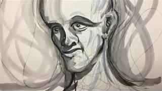 Tegne male øvelse Artgraf og akvarel maling