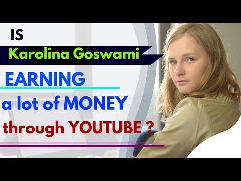 Am I Earning A Lot Of Money Through YouTube? | India In Details | Karolina Goswami