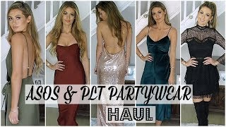 ASOS & PRETTY LITTLE THING HUGE HAUL AND TRY ON - PARTYWEAR!