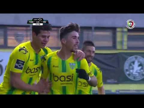 Resumo Tondela 3-1 Feirense (Liga 18ªJ)