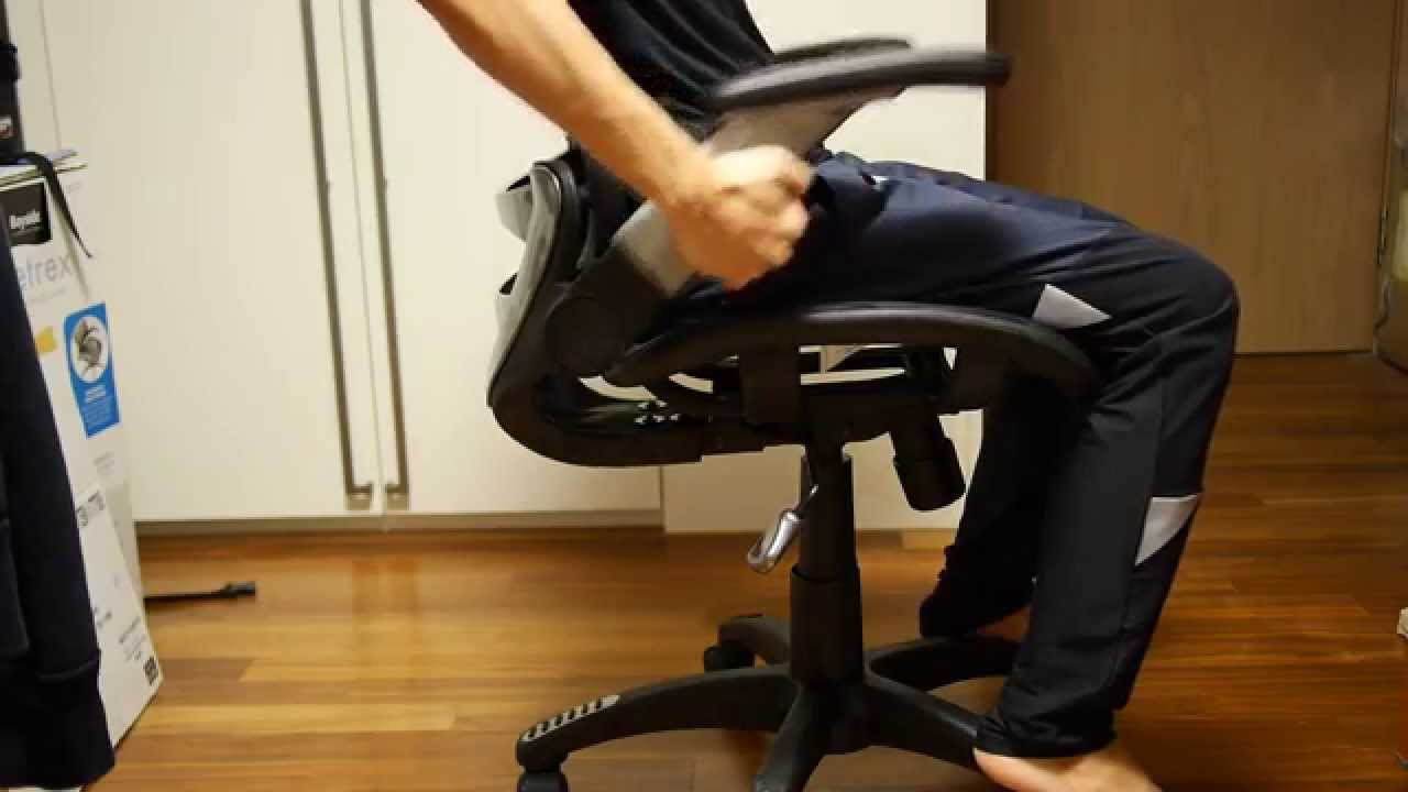 COSTCO Beyside Metrex Mesh office chair CORC-7 - YouTube
