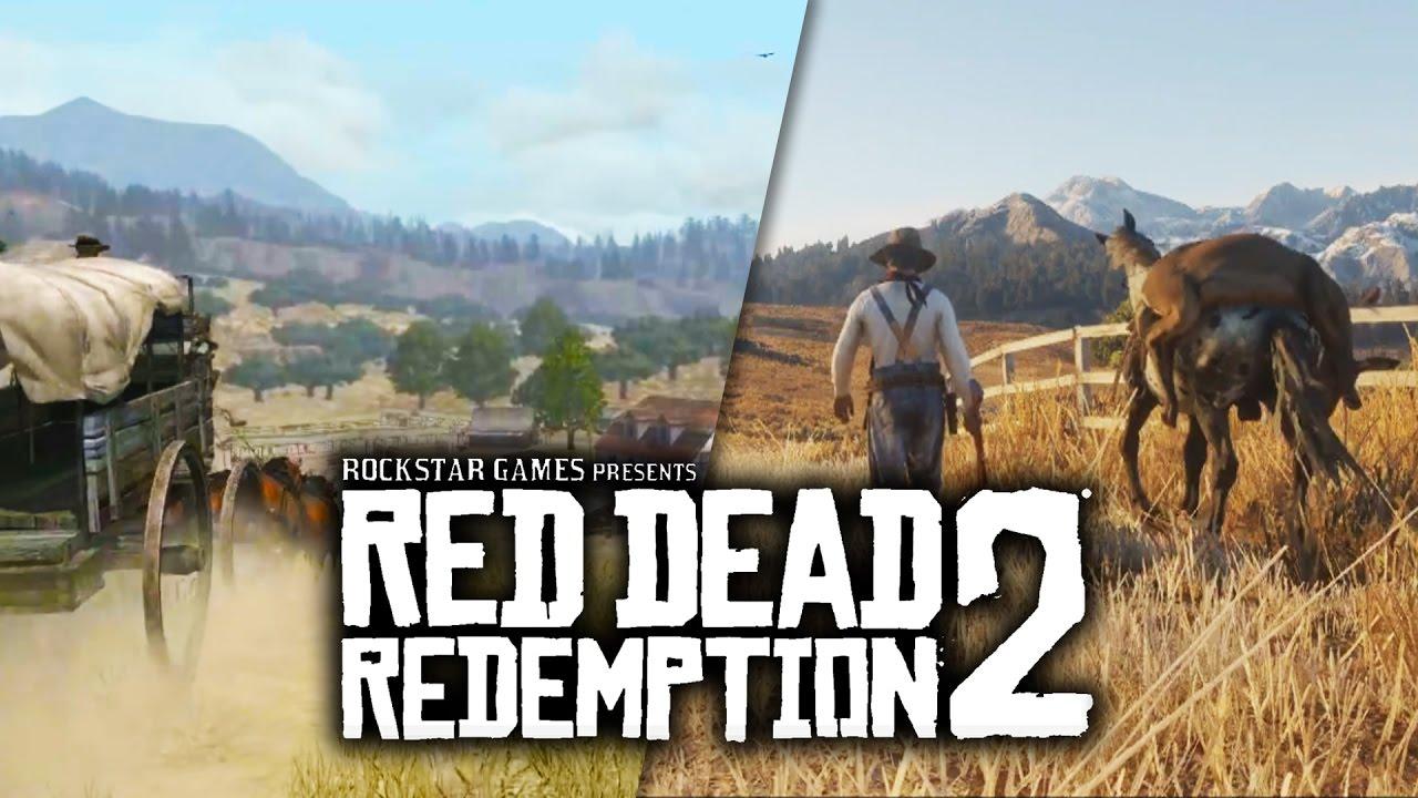 Red Dead Redemption 2 VS Graphics Comparison Trailer Vs Tribute
