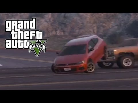 Best Car Crash Compilation #8 In Grand Theft Auto 5 (GTA V) thumbnail