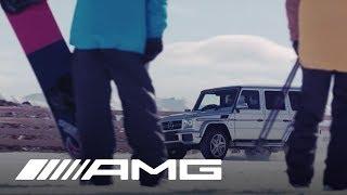 Mercedes-AMG at the Snow Farm