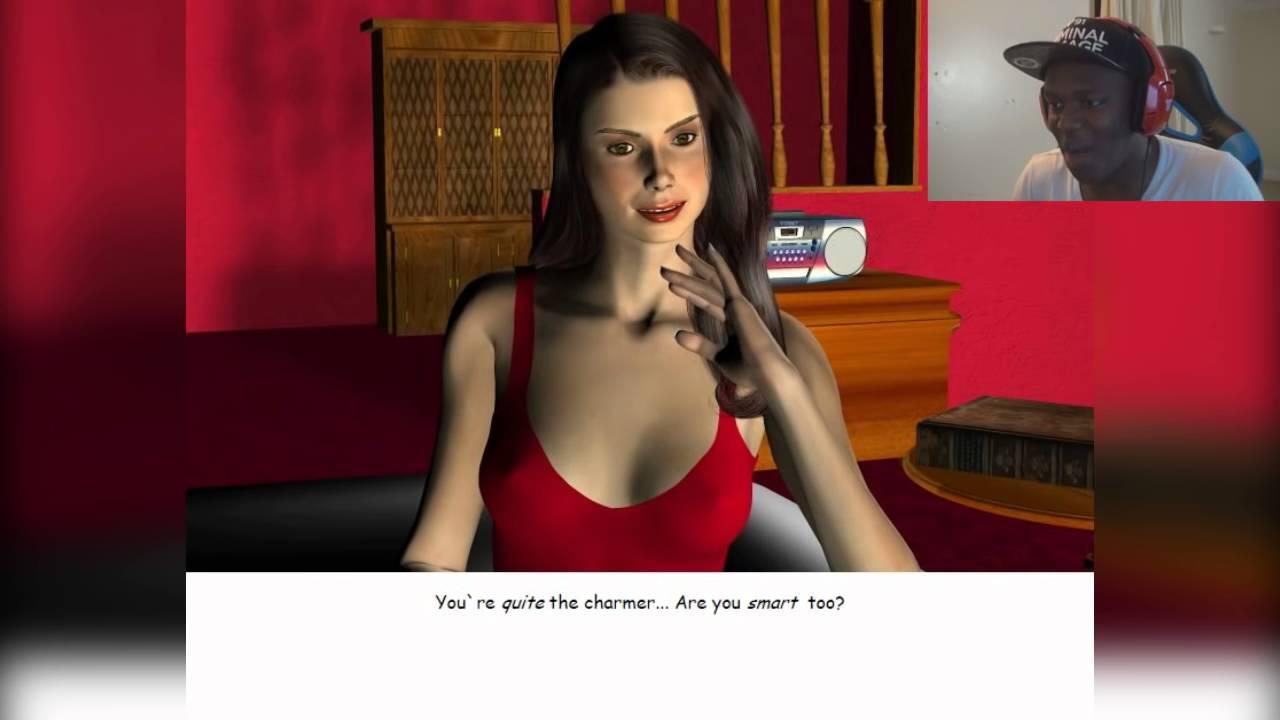 Ksi plays dating simulator