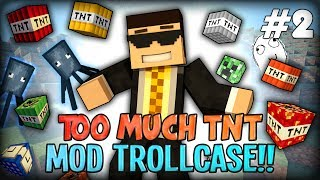 Minecraft Mods / Mod Trollcase - SQUID OCEAN TNT AND LOLs (Too Much TNT MOD #2)
