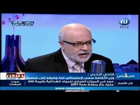 فتحي البحري: وزير الثقافة عين متربصة كمشرفة على موقع قرطاج التاريخي